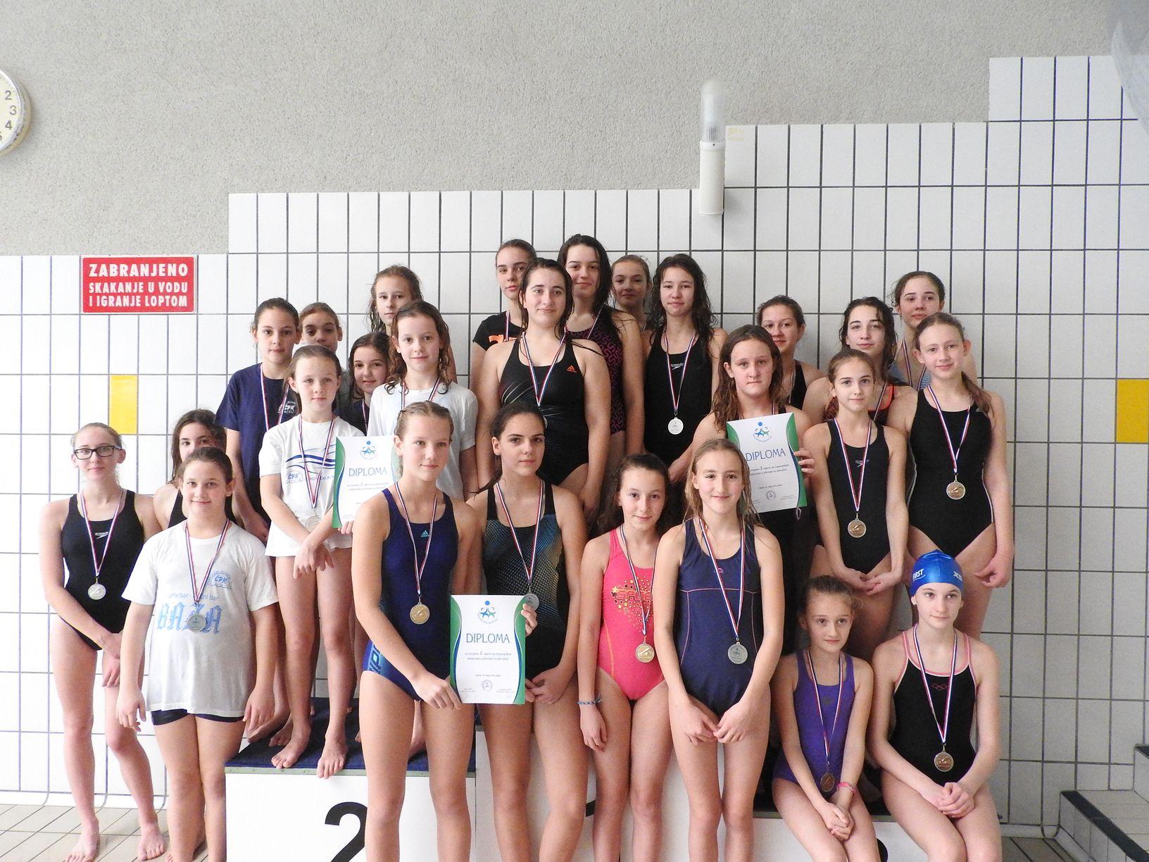 Plivanje - djevojke
